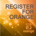 Orange Conference 125×125